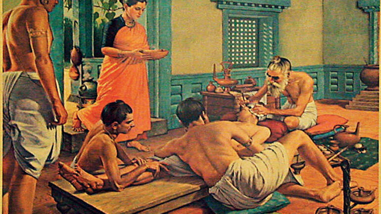 La cirugía en la medicina Ayurveda. El Sushruta Samhita
